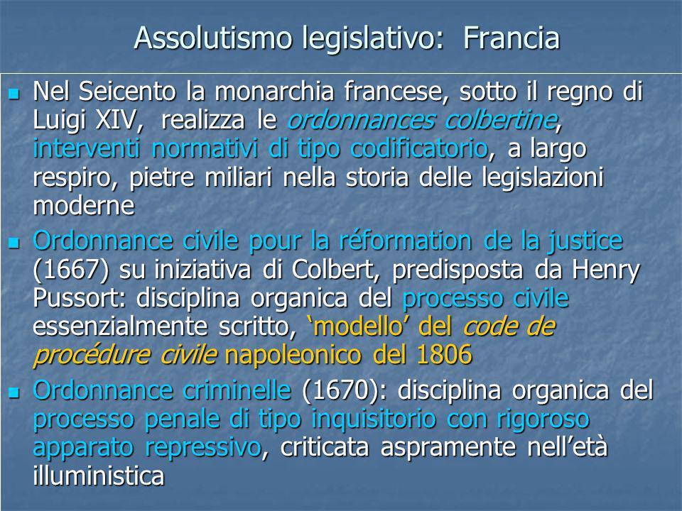 Assolutismo legislativo: Francia
