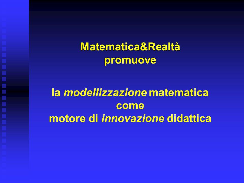 Matematica&Realtà promuove