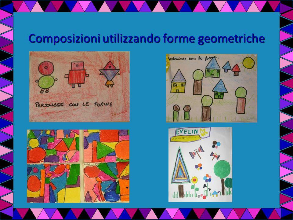 Composizioni utilizzando forme geometriche