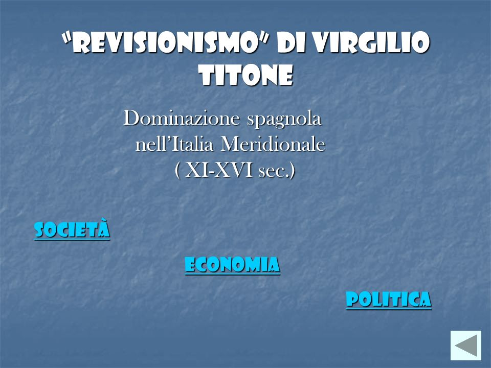 Revisionismo di Virgilio Titone