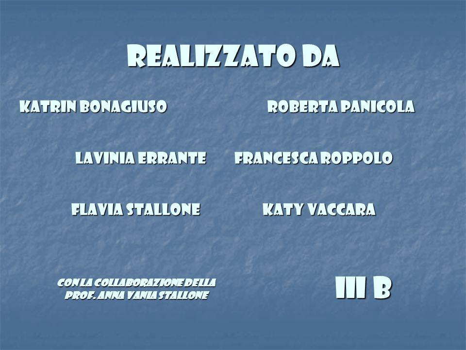 con la collaborazione della prof. Anna Vania Stallone