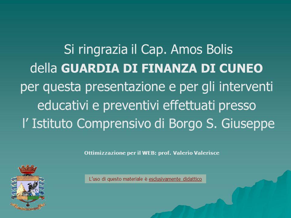 Ottimizzazione per il WEB: prof. Valerio Valerisce