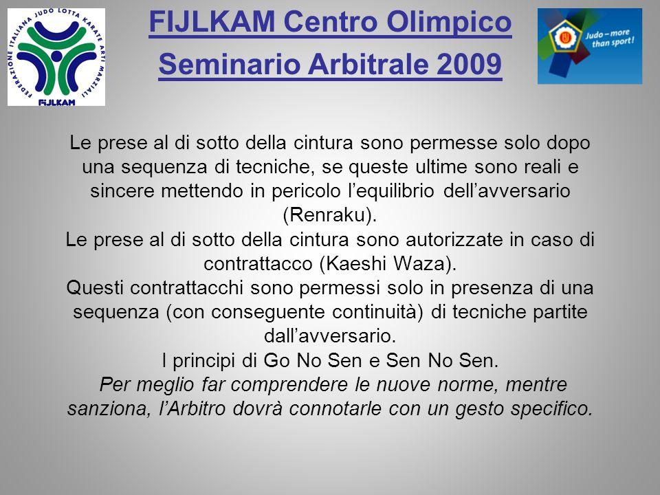 FIJLKAM Centro Olimpico Seminario Arbitrale 2009