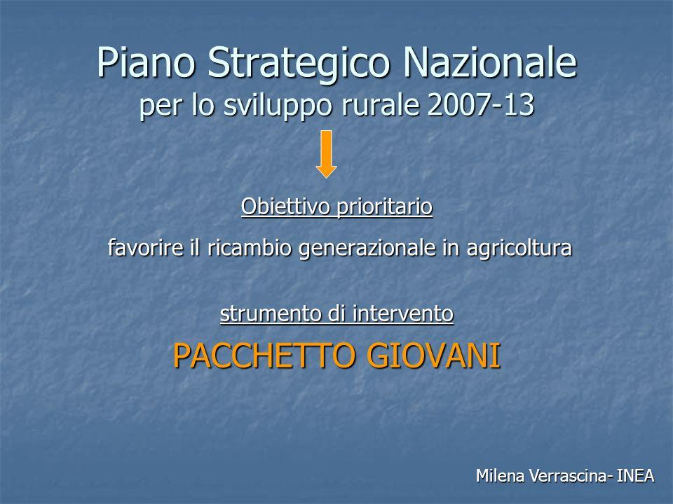 Piano Strategico Nazionale per lo sviluppo rurale 2007-13