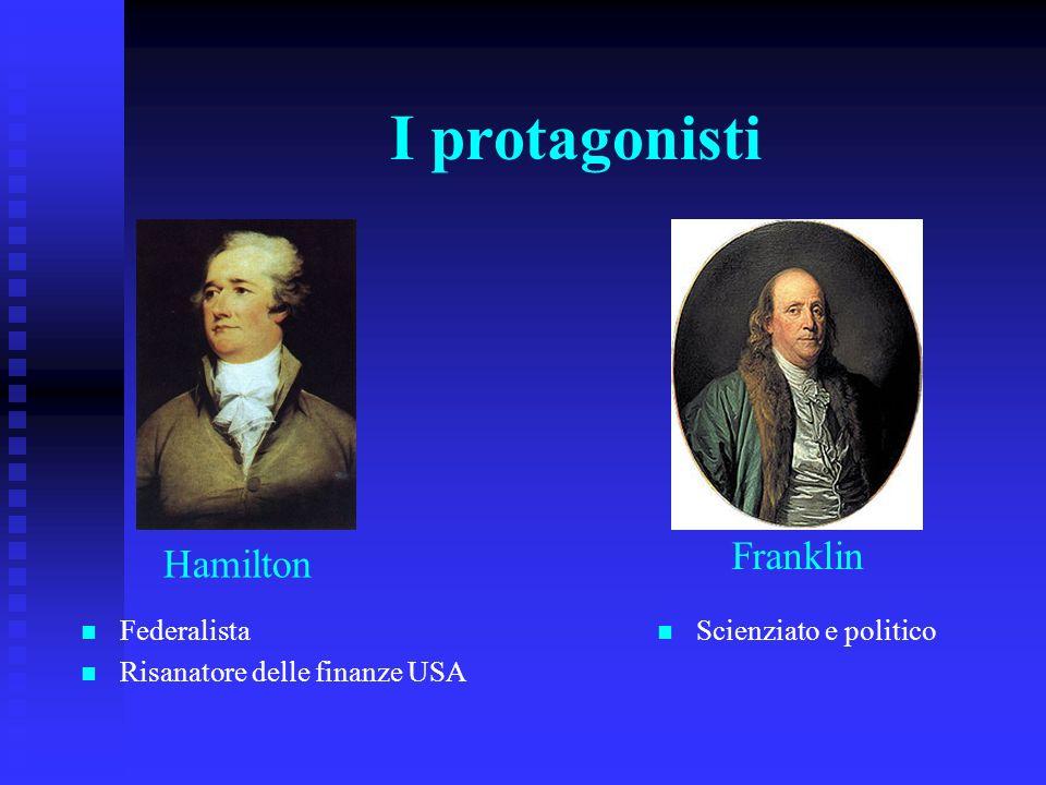 I protagonisti Franklin Hamilton Federalista