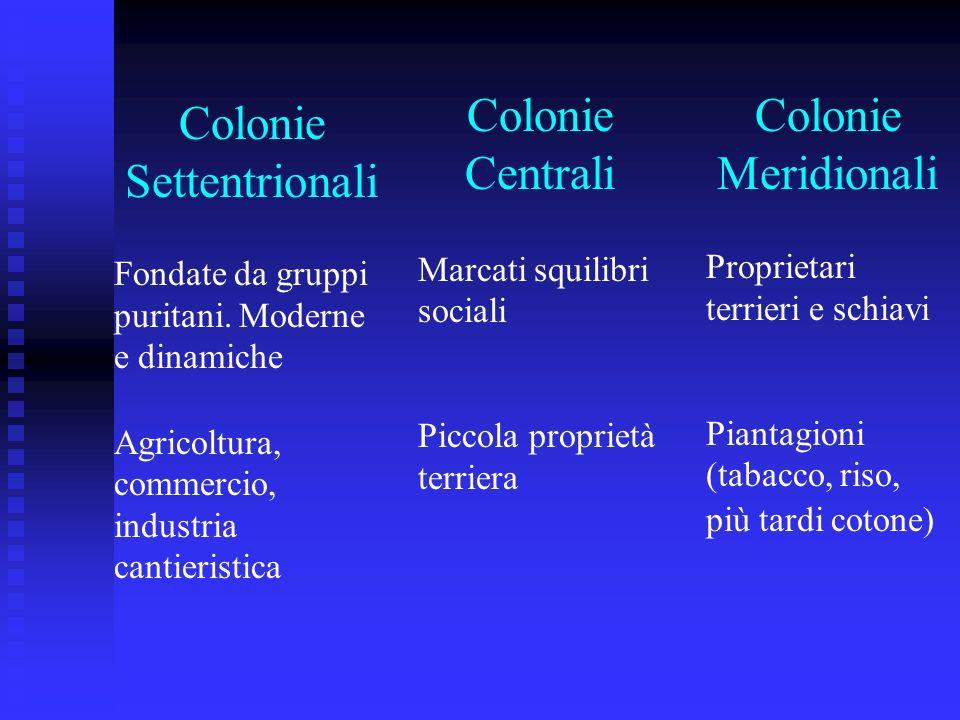 Colonie Settentrionali