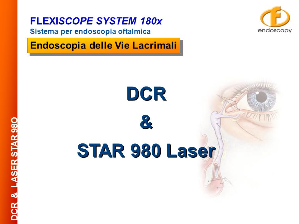 DCR & STAR 980 Laser FLEXISCOPE SYSTEM 180x