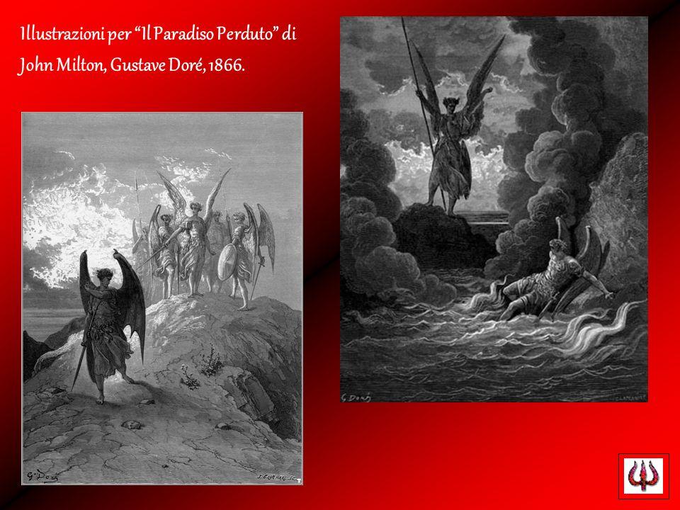 Illustrazioni per Il Paradiso Perduto di John Milton, Gustave Doré, 1866.