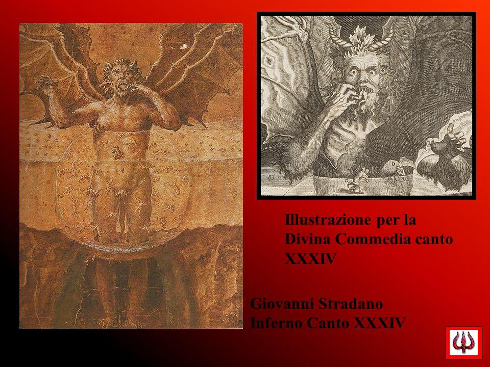 Illustrazione per la Divina Commedia canto XXXIV