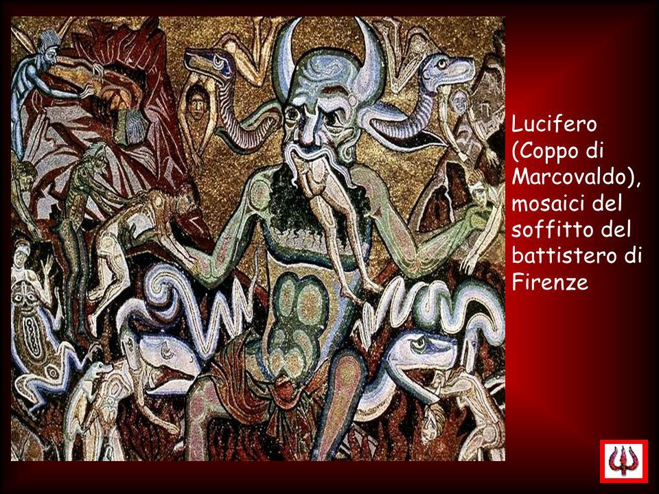 Lucifero (Coppo di Marcovaldo), mosaici del soffitto del battistero di Firenze