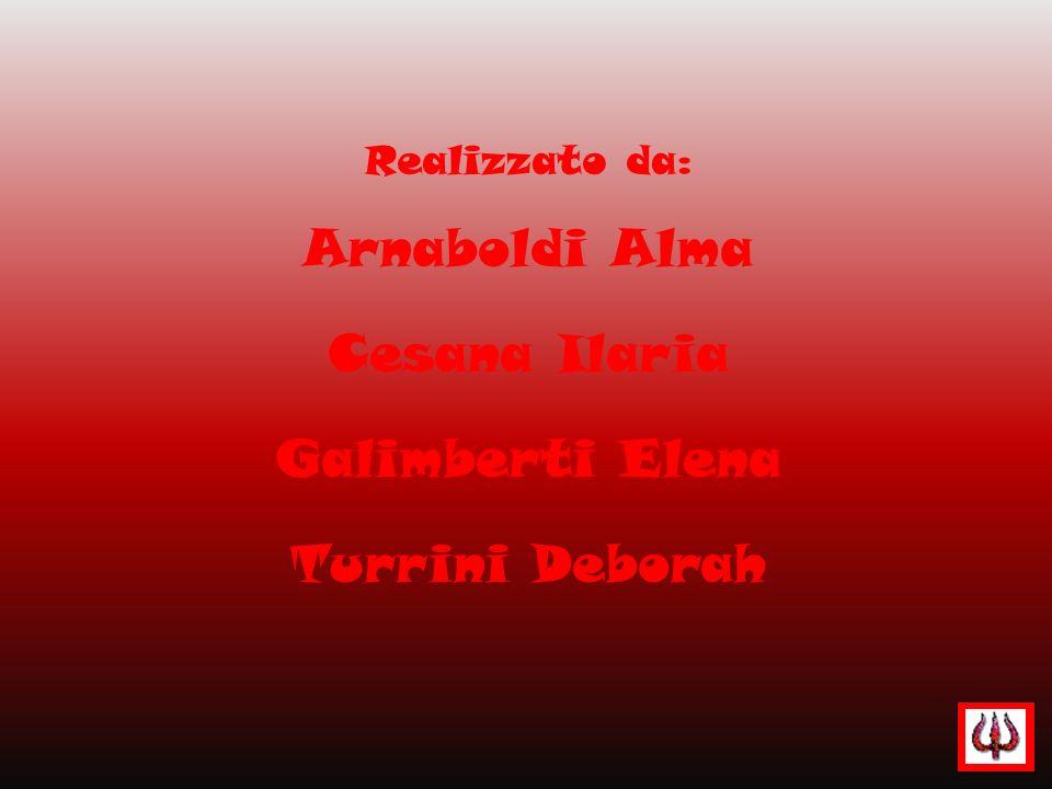 Arnaboldi Alma Cesana Ilaria Galimberti Elena Turrini Deborah