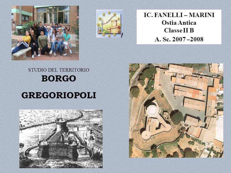 BORGO GREGORIOPOLI IC. FANELLI – MARINI Ostia Antica Classe II B