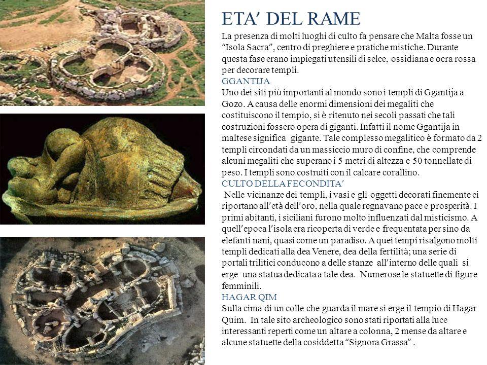 ETA' DEL RAME