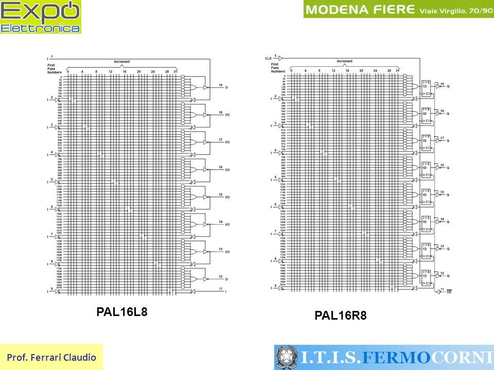 PAL16L8 PAL16R8 Prof. Ferrari Claudio
