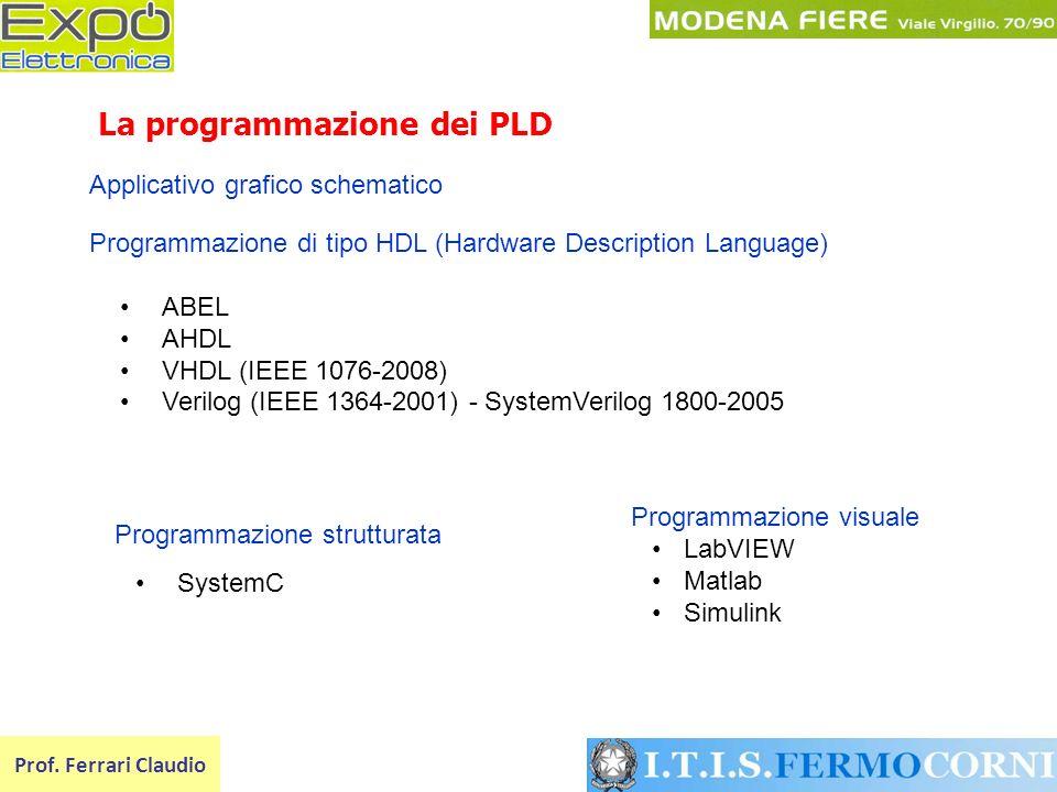 La programmazione dei PLD
