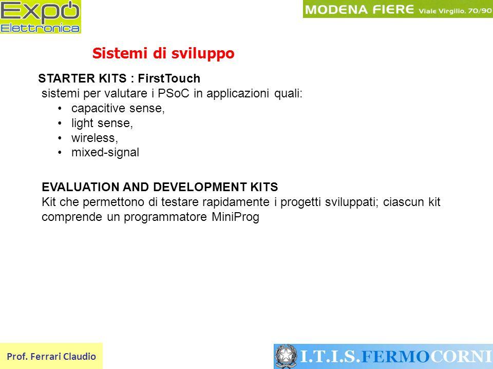 Sistemi di sviluppo STARTER KITS : FirstTouch
