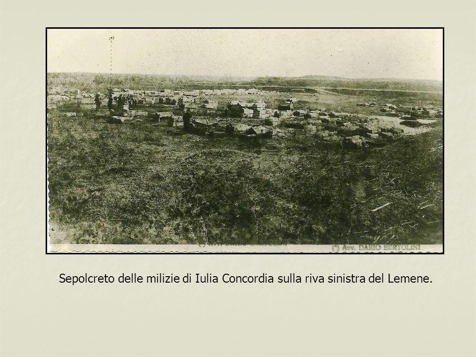 Sepolcreto delle milizie di Iulia Concordia sulla riva sinistra del Lemene.