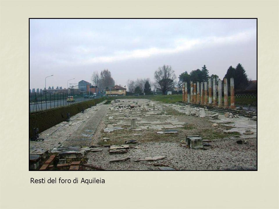 Resti del foro di Aquileia