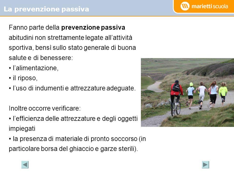 La prevenzione passiva