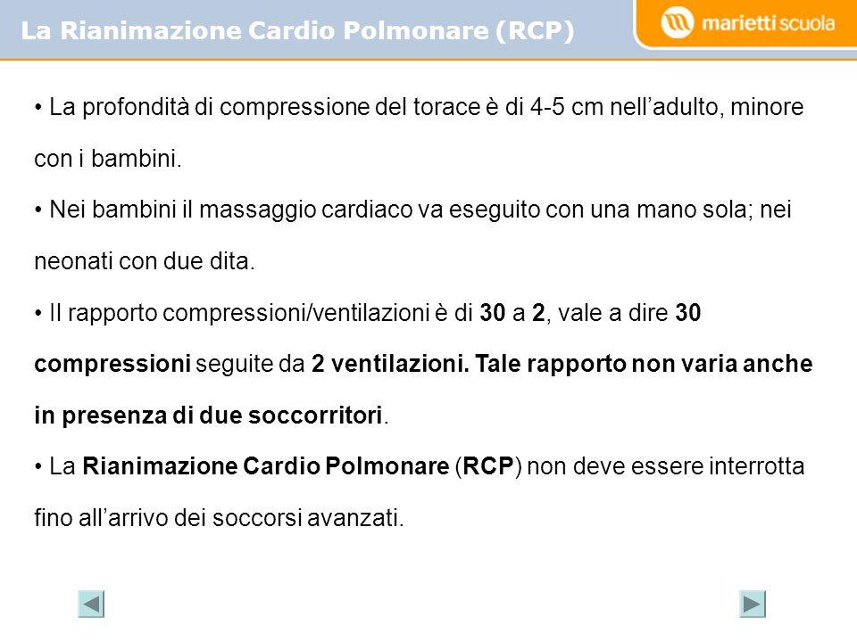 La Rianimazione Cardio Polmonare (RCP)