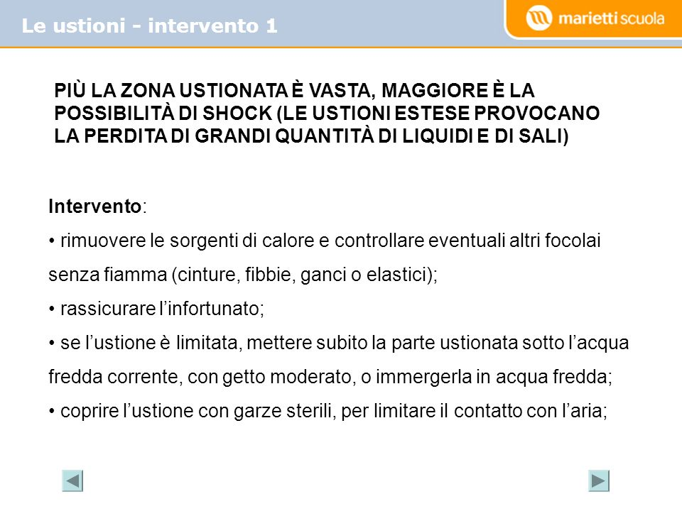 Le ustioni - intervento 1