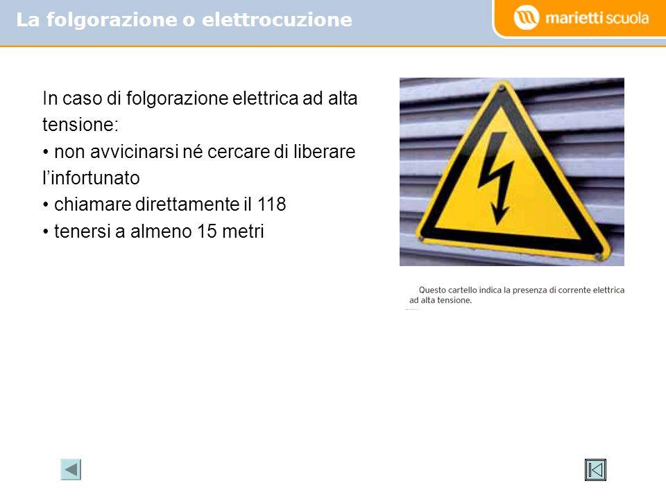 La folgorazione o elettrocuzione