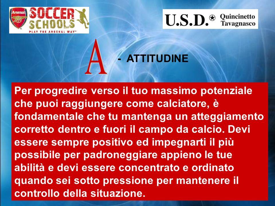 A - ATTITUDINE.