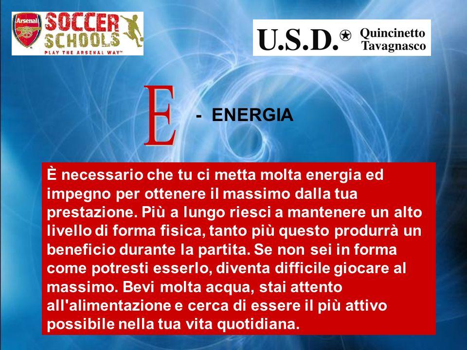 E - ENERGIA.
