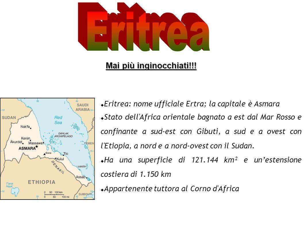 Eritrea Mai più inginocchiati!!!
