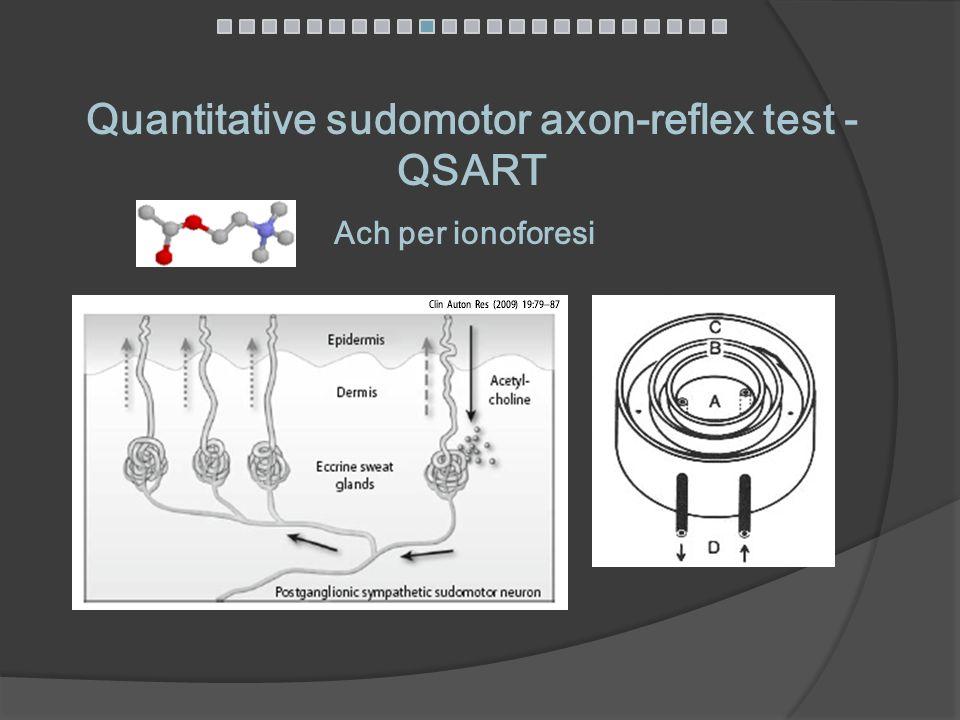 Quantitative sudomotor axon-reflex test - QSART