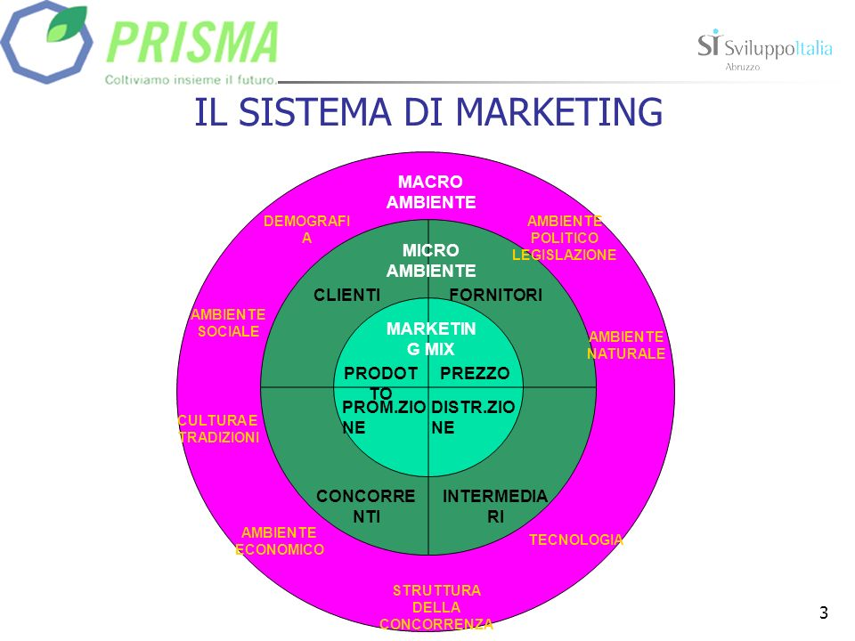 IL SISTEMA DI MARKETING