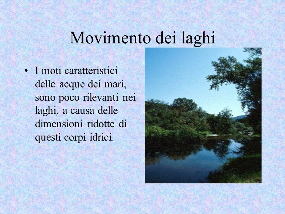 Movimento dei laghi