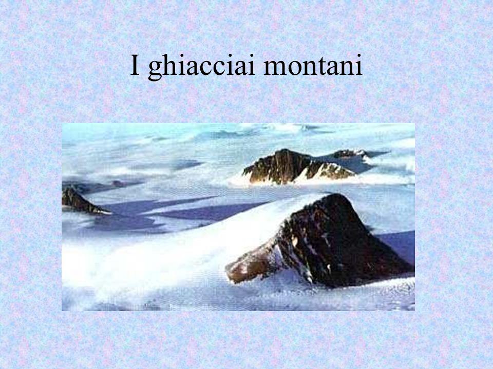 I ghiacciai montani