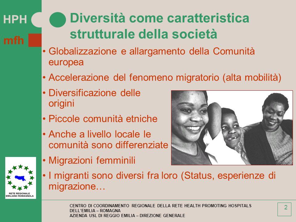 Diversità come caratteristica strutturale della società