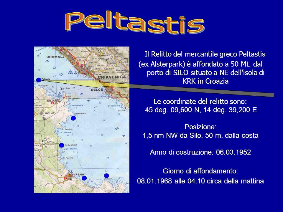 Peltastis Il Relitto del mercantile greco Peltastis