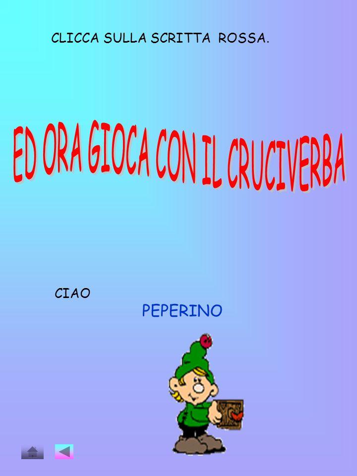 ED ORA GIOCA CON IL CRUCIVERBA