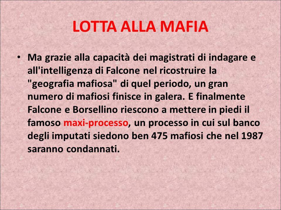 LOTTA ALLA MAFIA