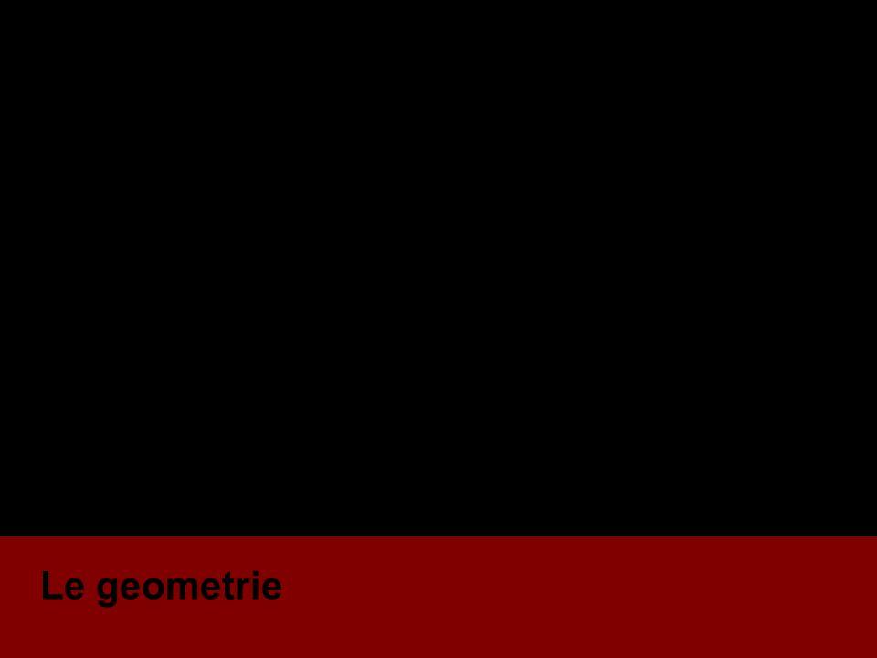 Le geometrie