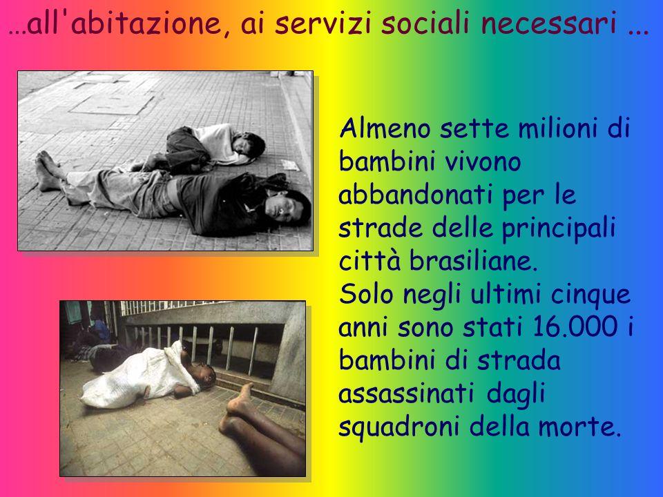 …all abitazione, ai servizi sociali necessari ...