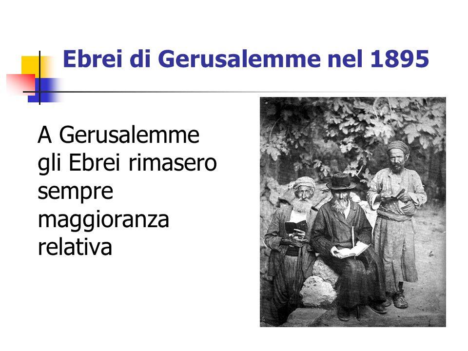 Ebrei di Gerusalemme nel 1895