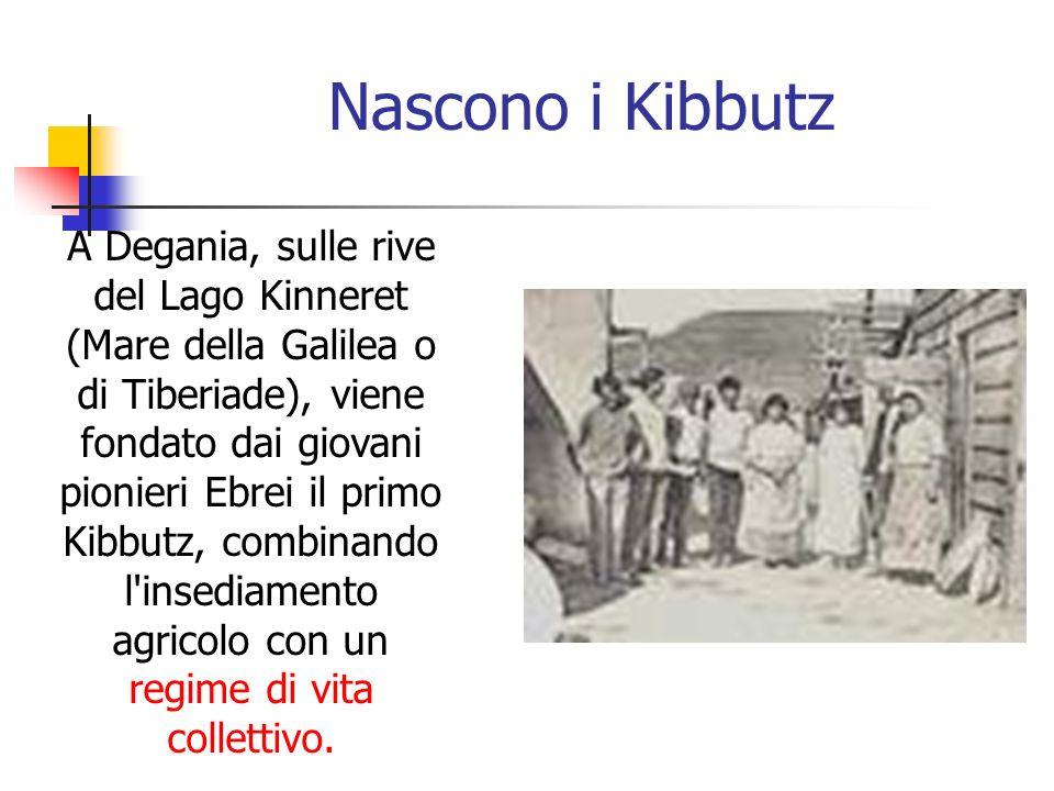 Nascono i Kibbutz