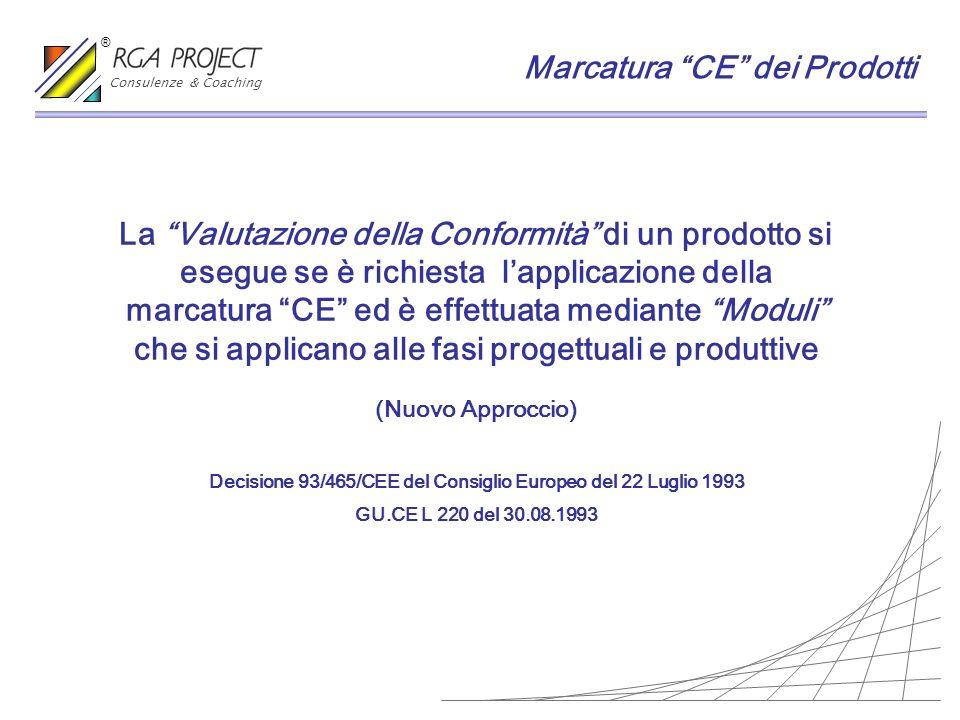 Decisione 93/465/CEE del Consiglio Europeo del 22 Luglio 1993