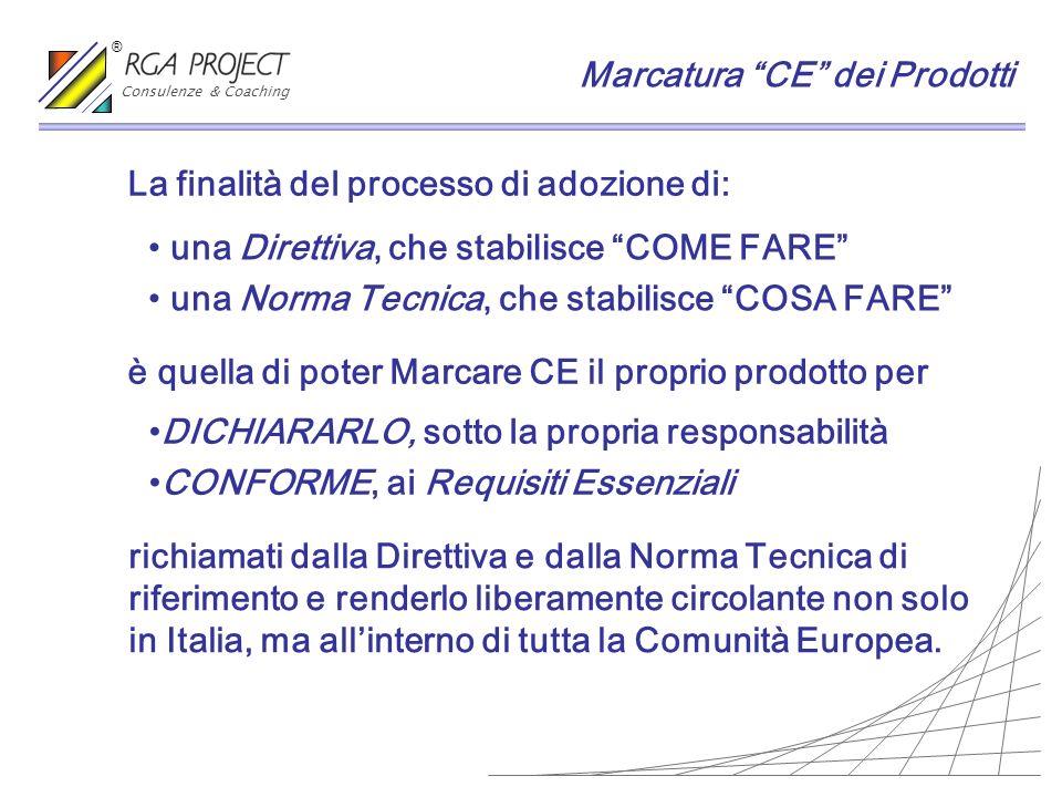 Marcatura CE dei Prodotti