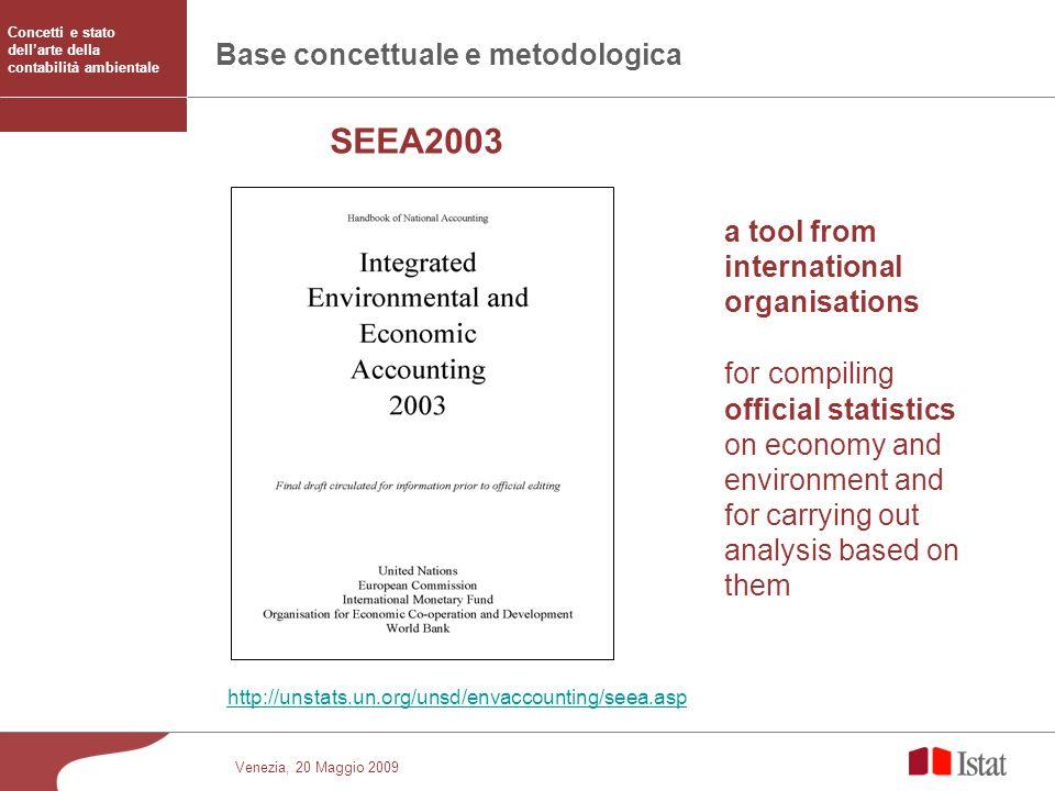 Base concettuale e metodologica