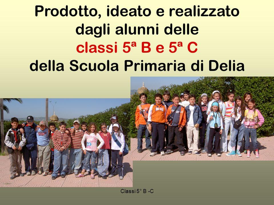 Prodotto, ideato e realizzato dagli alunni delle classi 5ª B e 5ª C della Scuola Primaria di Delia