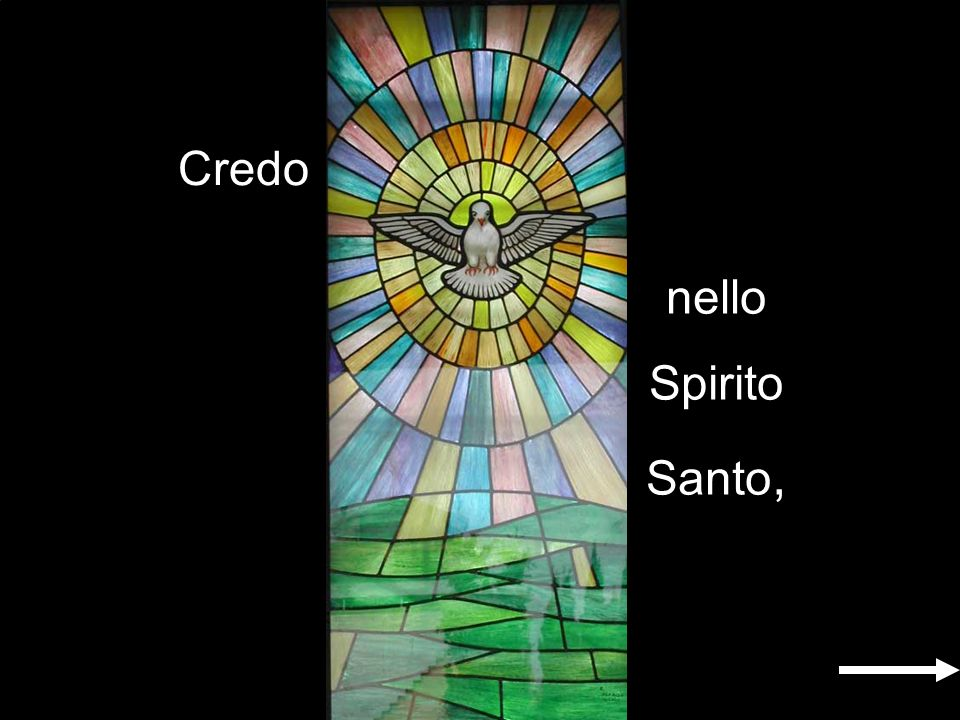 Credo nello Spirito Santo,