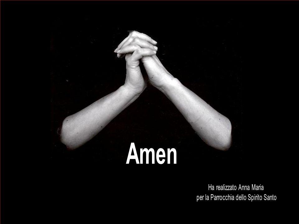 Amen Ha realizzato Anna Maria per la Parrocchia dello Spirito Santo