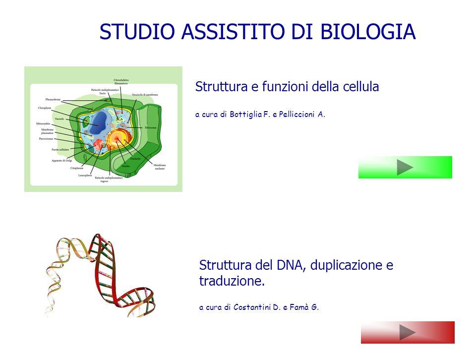 STUDIO ASSISTITO DI BIOLOGIA