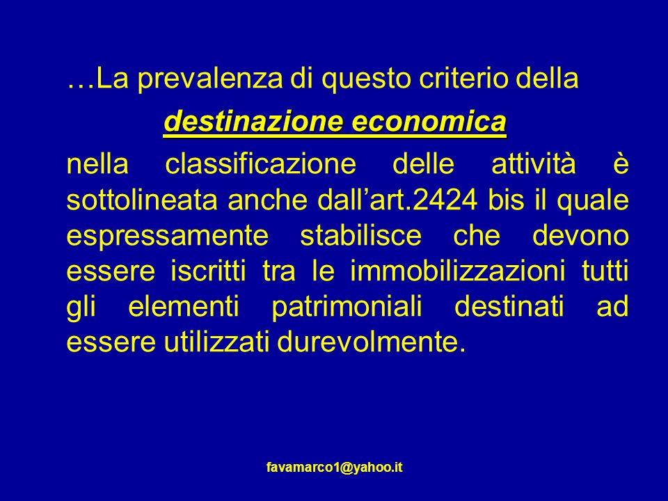 destinazione economica