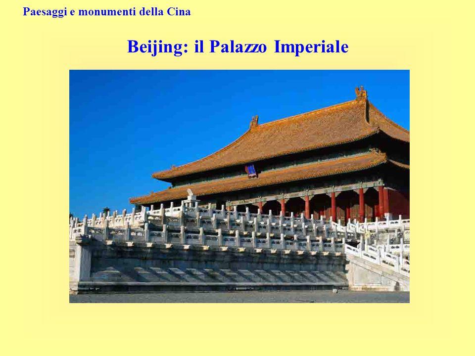 Paesaggi e monumenti della Cina Beijing: il Palazzo Imperiale